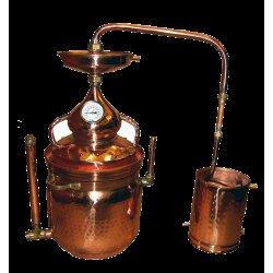 Alembic Copper Bain Marie 10 L