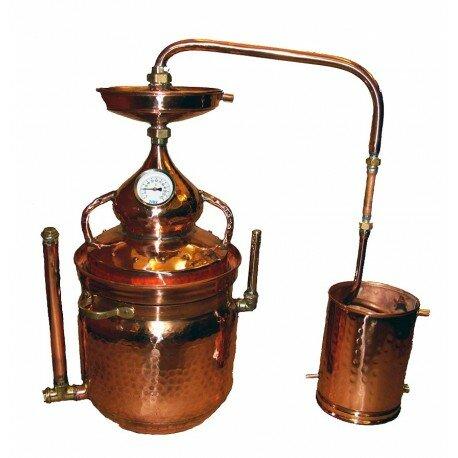 Alembic Copper Bain Marie 30 L