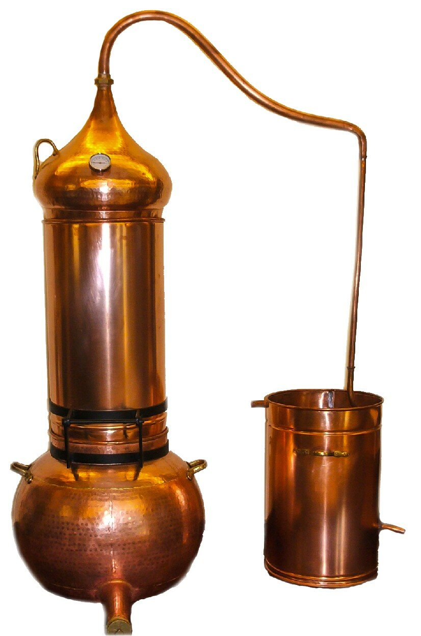 Snippet Copper Tips The Nailasaurus: Alambic, Destille, Alembic Copper Bain Marie