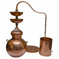 Double cleaning effect Copper Alembic 70L