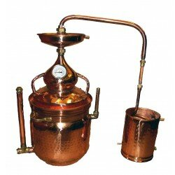 Alembic Copper Bain Marie 50 L